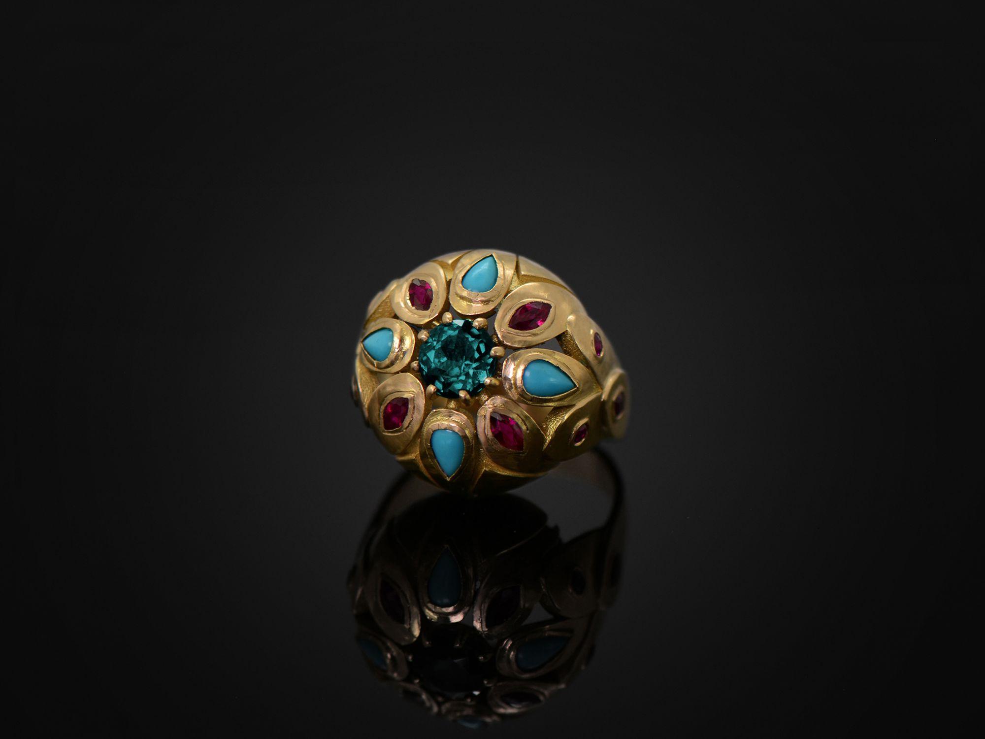 Maja Tourmaline Ring by Emmanuelle Zysman