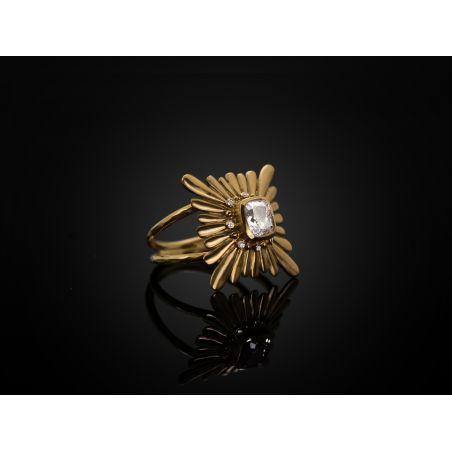 Mila Diamond Ring by Emmanuelle Zysman