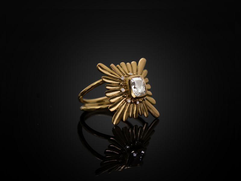Bague Mila Diamant par Emmanuelle Zysman