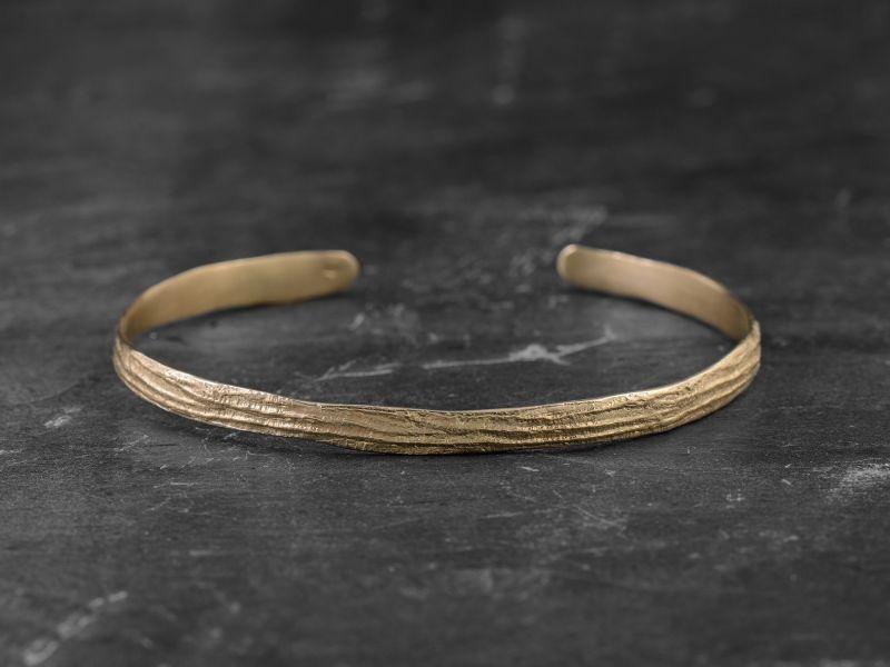 Sitia vermeil bracelet by Emmanuelle Zysman