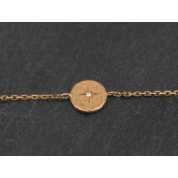 Bracelet Astarté or jaune
