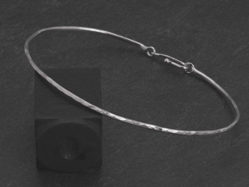 Bracelet Nude argent rhodié homme par Emmanuelle Zysman