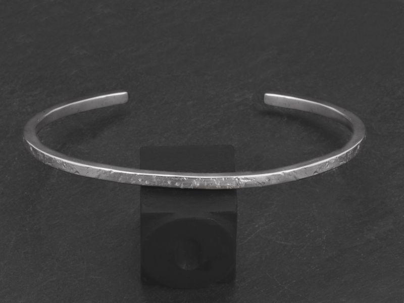 Bracelet Pégase GM argent rhodié homme