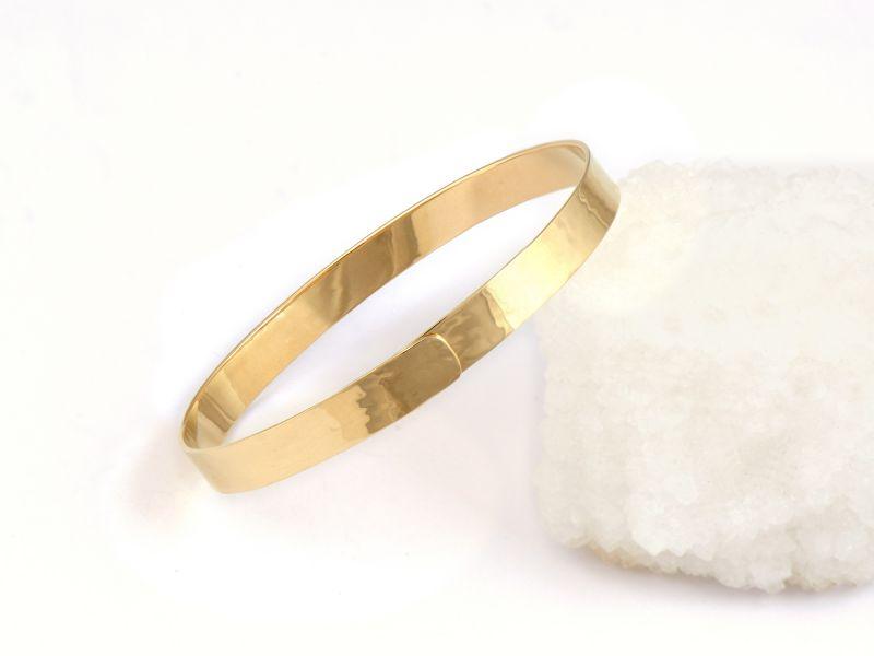 Bracelet Diane or jaune par Emmanuelle Zysman