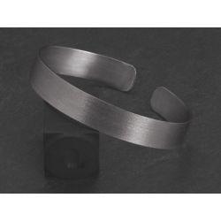 Bracelet Double Ulysse argent rhodié brossé HOMME par Emmanuelle Zysman