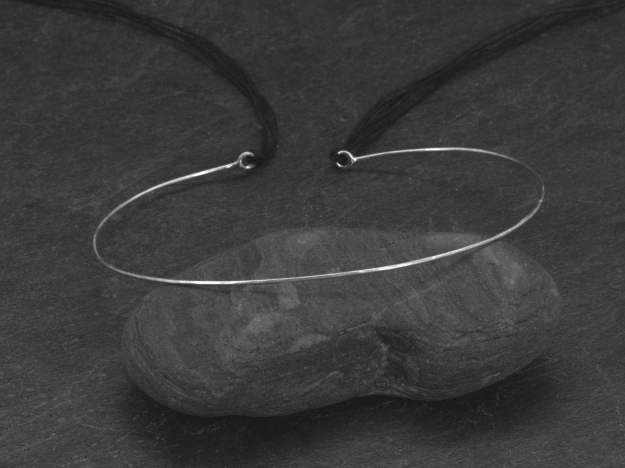 Bracelet Link or homme or blanc par Emmanuelle Zysman