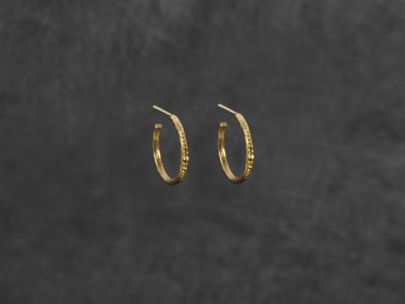 Orion vermeil earrings