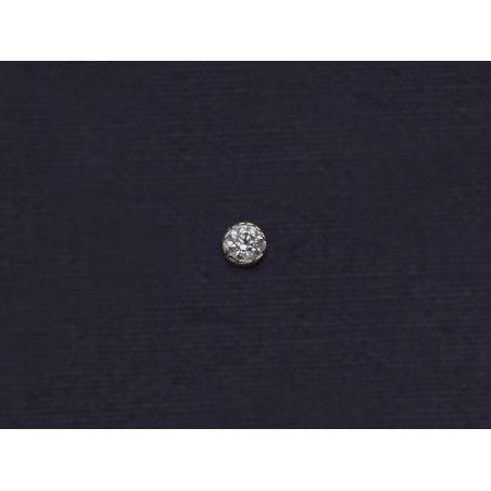 Puce diamant or blanc par Emmanuelle Zysman