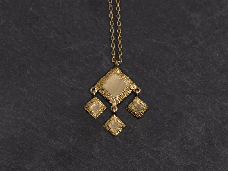 Sitia vermeil necklace