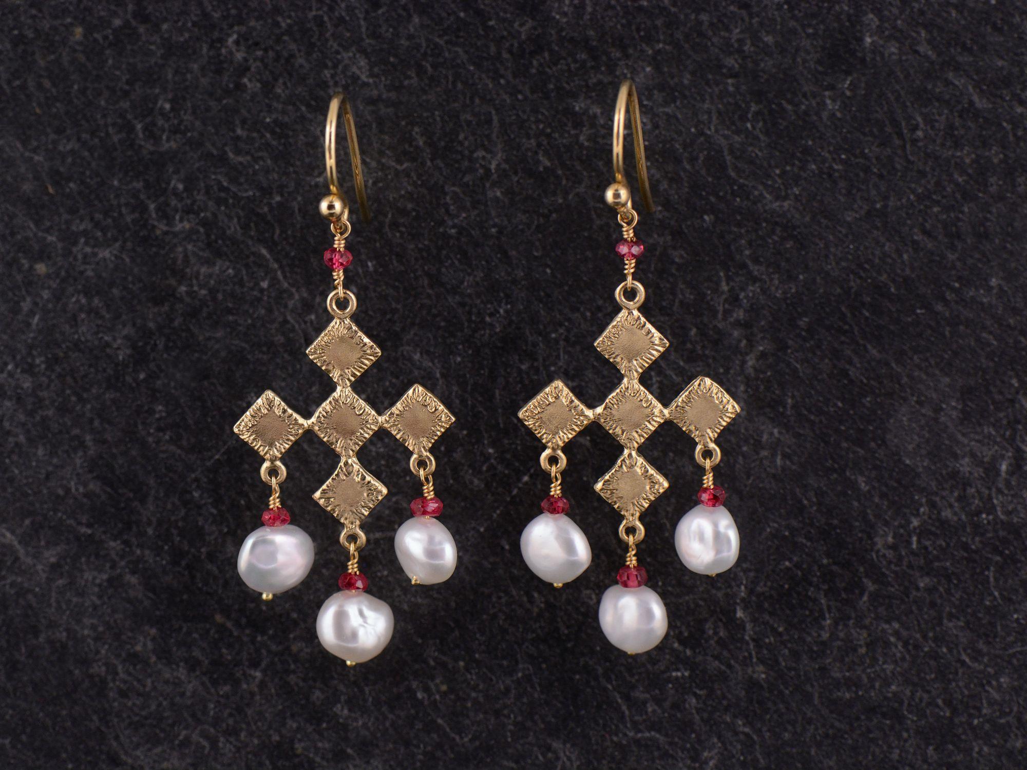 BO Sitia vermeil perles de culture  par Emmanuelle Zysman