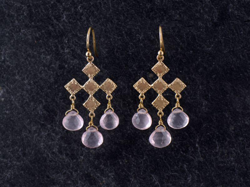 BO Sitia vermeil quartz rose par Emmanuelle Zysman